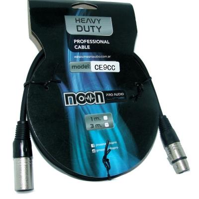 Cable Mic. 9m Canon-canon Ec.