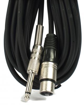Cable Mic. 9m Canon-plug Ec.