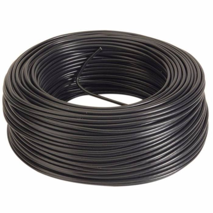 Cable Mic.6 Mm St.negro Nacional