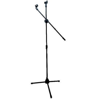 Pie De Microfono Doble Con Funda