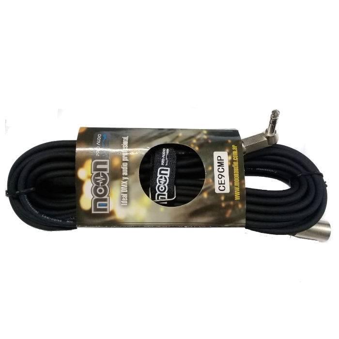 Cable De Microfono De 9mts Con Cable Canon Macho A Plug