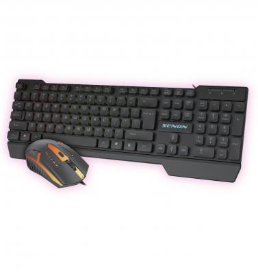 (*) Combo De Teclado Gaming Y Mouse