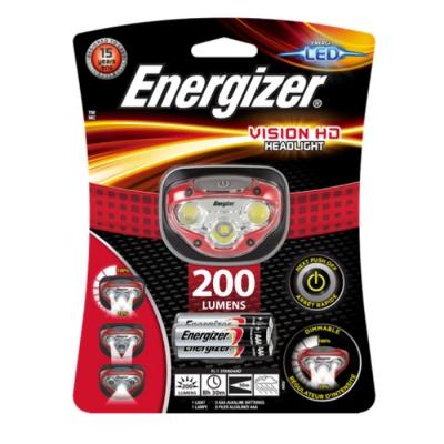 #linterna Energizer Manos Libres Vision Hd 200l