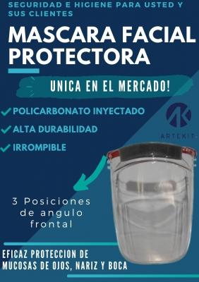 #mascara Facial Protectora De Policarbonato