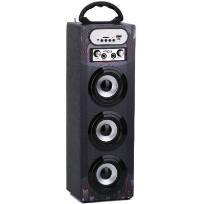 (**) Parlante Triple Con Radio Fm,usb,sd Y Control Remoto