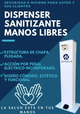 #dispenser Sanitizante De Manos Libres