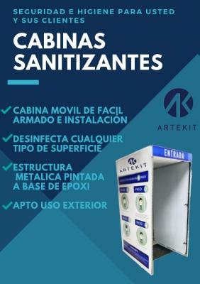 #cabina Sanitizante Artekit