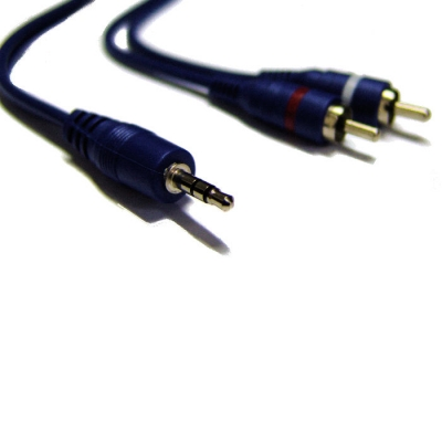 Cable Armado Artekit Linea Blue De 3.5st X 2rca 2mts