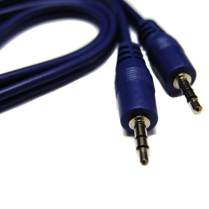 Cable Armado Artekit Linea Blue De 3.5st X 3.5st Rca 4mts