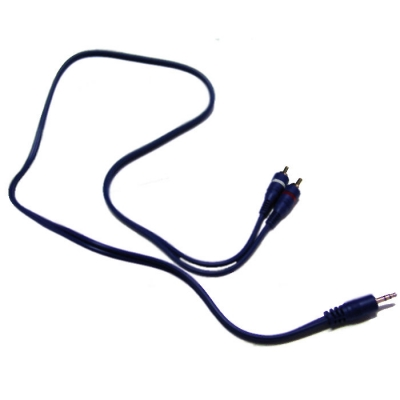 Cable Armado Artekit Linea Blue De 3.5st X 2rca 0.9mts
